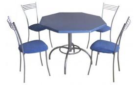 Стол с столешницей восьмигранник С-500